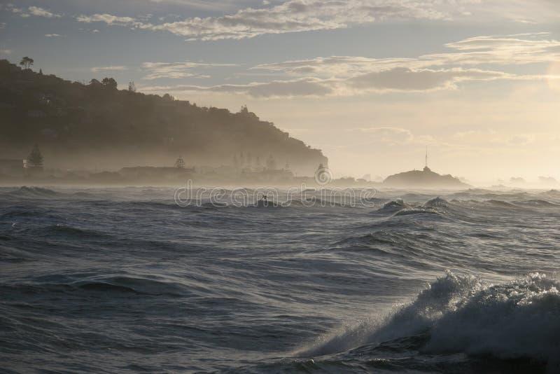Persona que practica surf de Sumner imagenes de archivo
