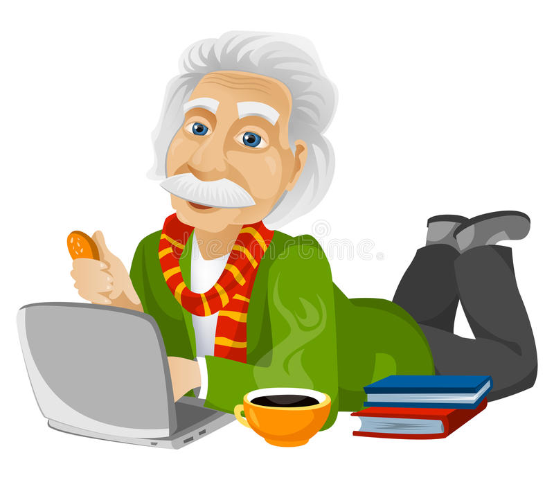 Einstein fotografia de stock royalty free