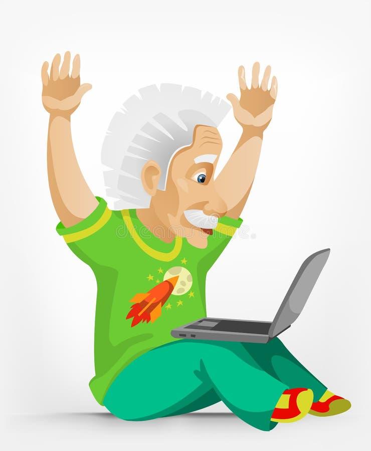 Einstein imagem de stock