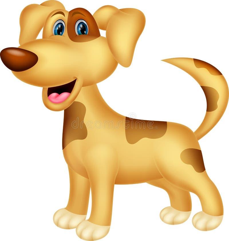 Personaggio dei cartoni animati del cane illustrazione vettoriale