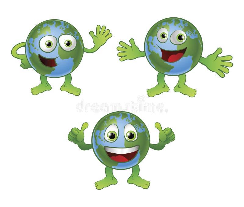 Personaggio dei cartoni animati del mondo del globo - Immagini dei cartoni animati antincendio ...