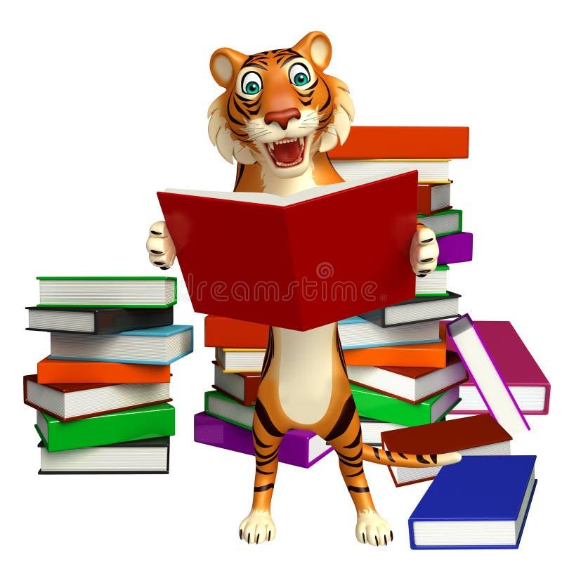 Personaggio dei cartoni animati della tigre di