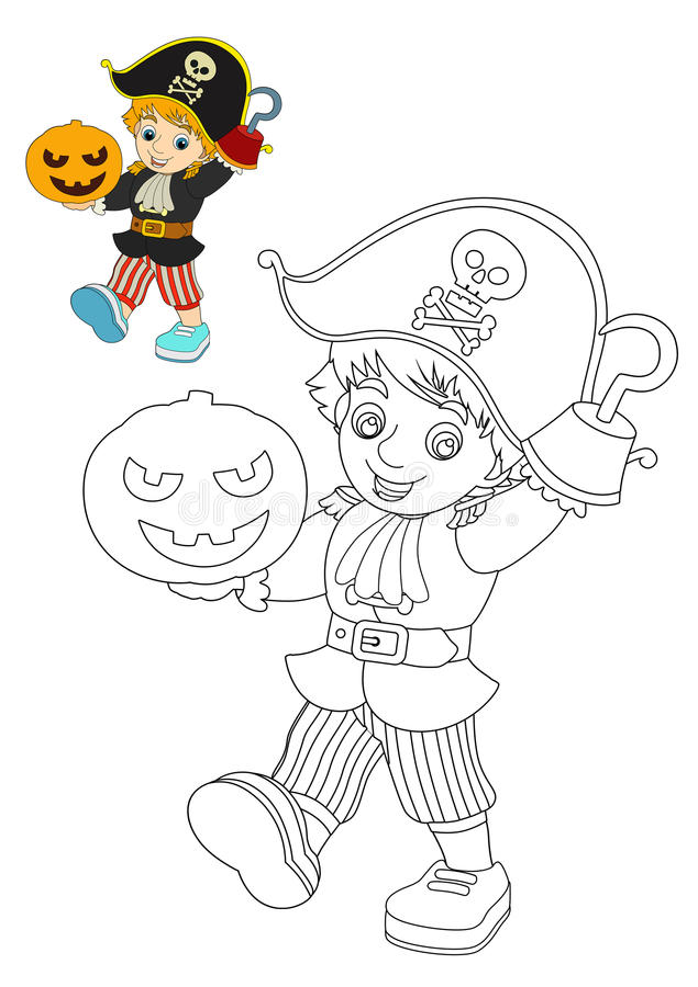 Personaggio dei cartoni animati halloween
