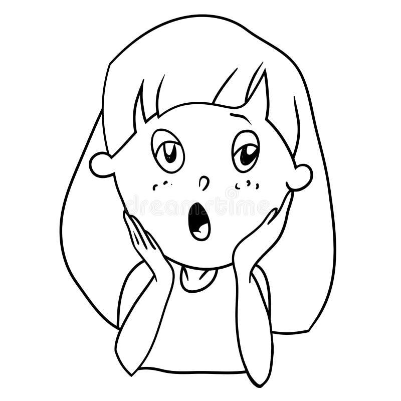 Personaje de dibujos animados ilustración del vector