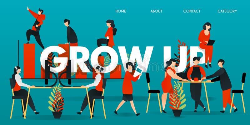 personaje de dibujos animados plano ejemplo del vector para la tecnología, negocio, inicio, espacio de trabajo la gente trabaja e stock de ilustración