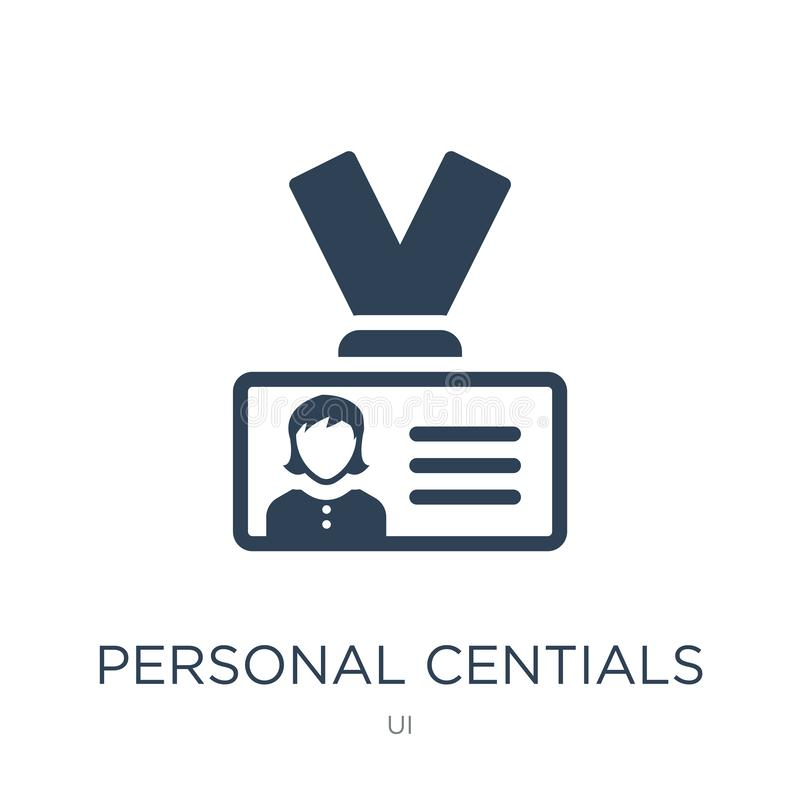 personal centials icon in trendy design style. personal centials icon isolated on white background. personal centials vector icon royalty free illustration