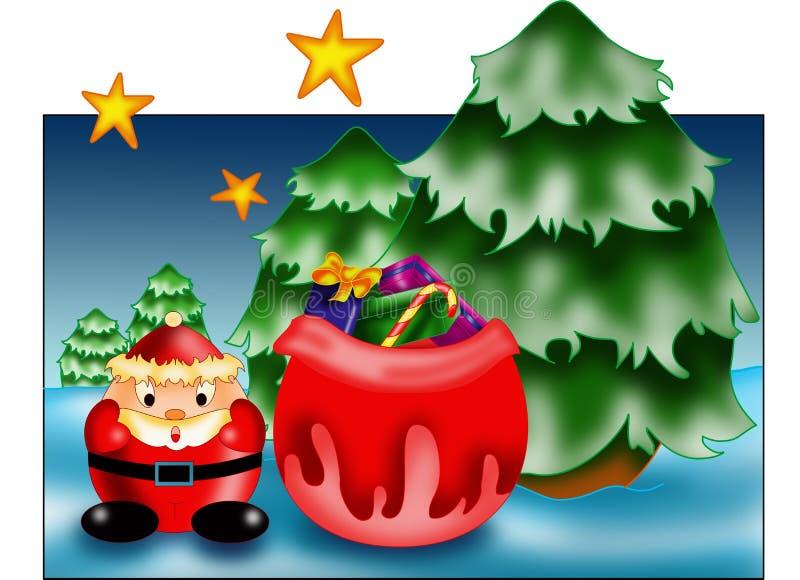 Personal Christmas card stock image