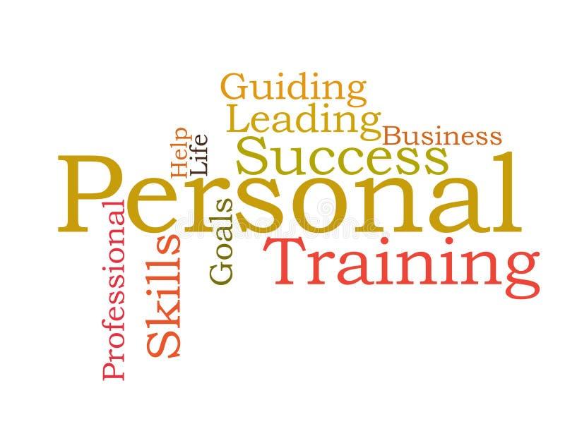 Personal Coaching royalty free illustration