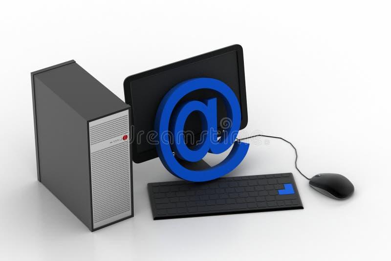 Personal Computer Con Il Sistema Di Sicurezza ...