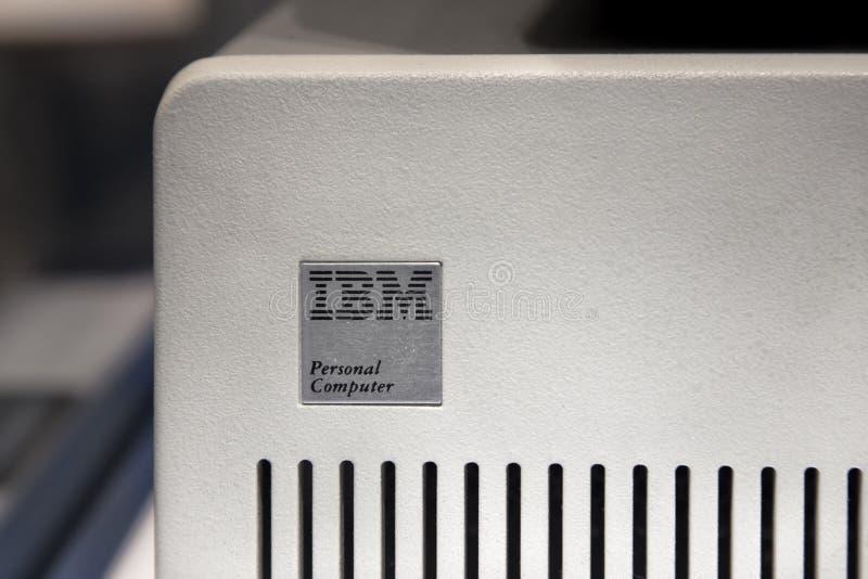 Personal computer originale di IBM immagine stock libera da diritti