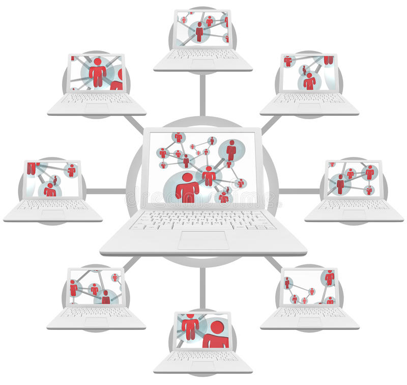 Download Personal Connections - Computer Technology Stock Image - Image: 11821431