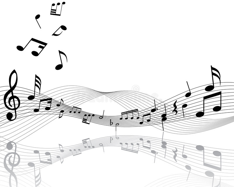 Download Personal De La Nota Musical Ilustración del Vector - Ilustración de diseño, claves: 7277364