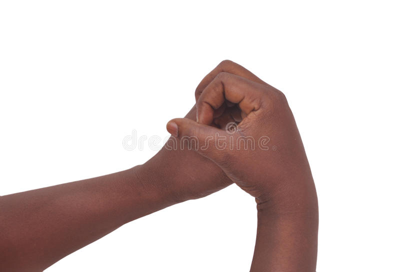 PERSONAL DEFENSE. A confrontation of three states: confusion, understanding and spontaneity, probably meaning that the aggression being sudden, the victim is stock photo