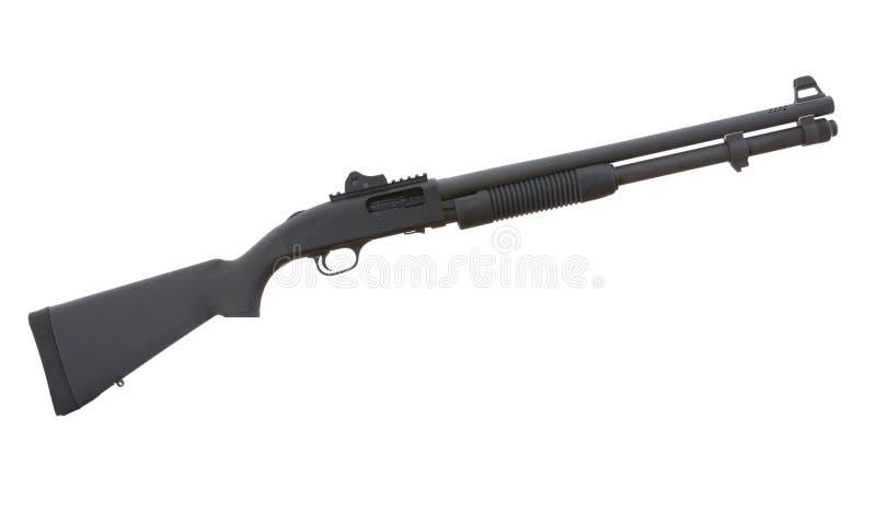 Personal defense shotgun royalty free stock images