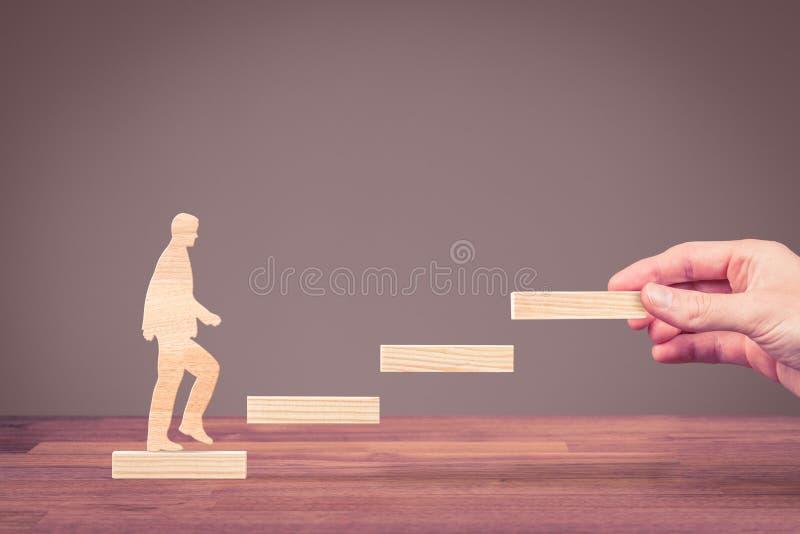 Personal development career royalty free stock image