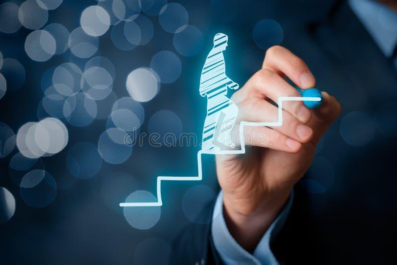 Personal development career royalty free stock photo