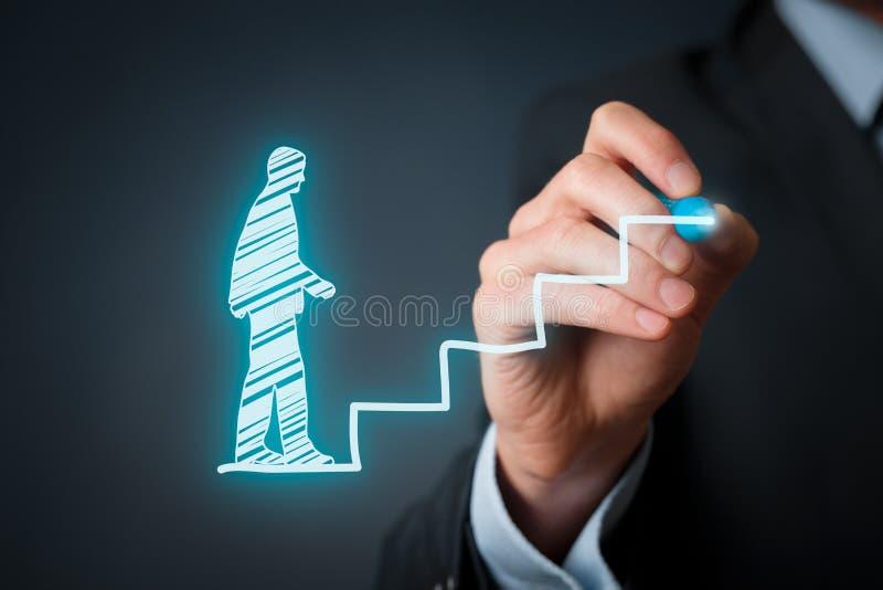 Personal development career stock photos