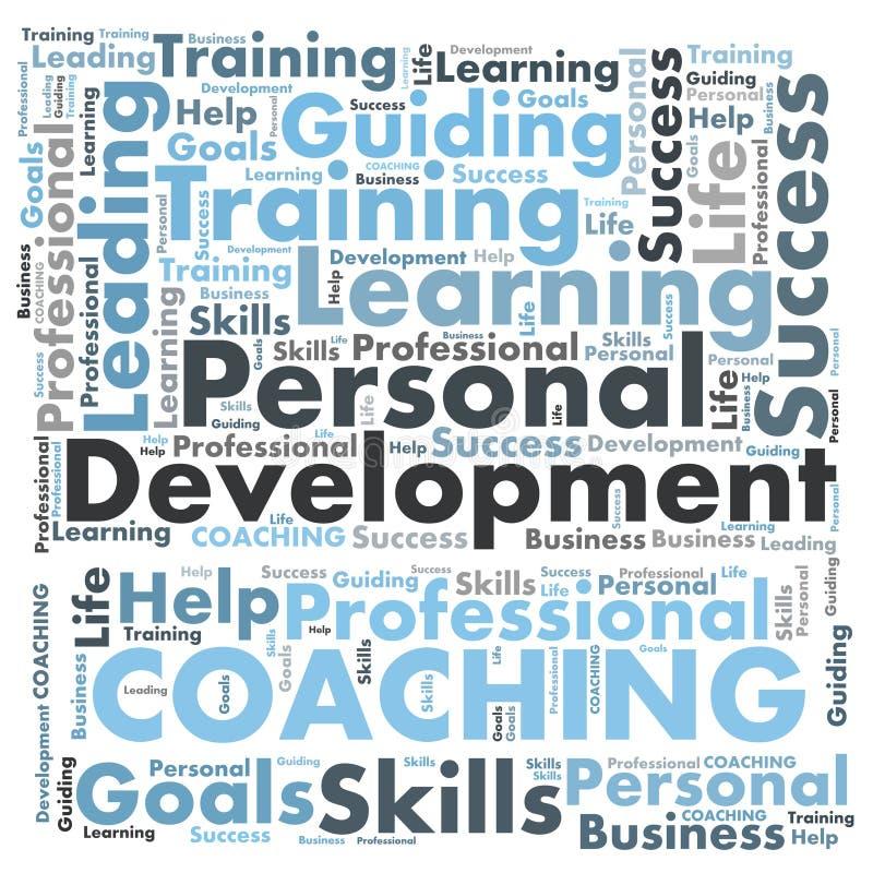 Personal development vector illustration
