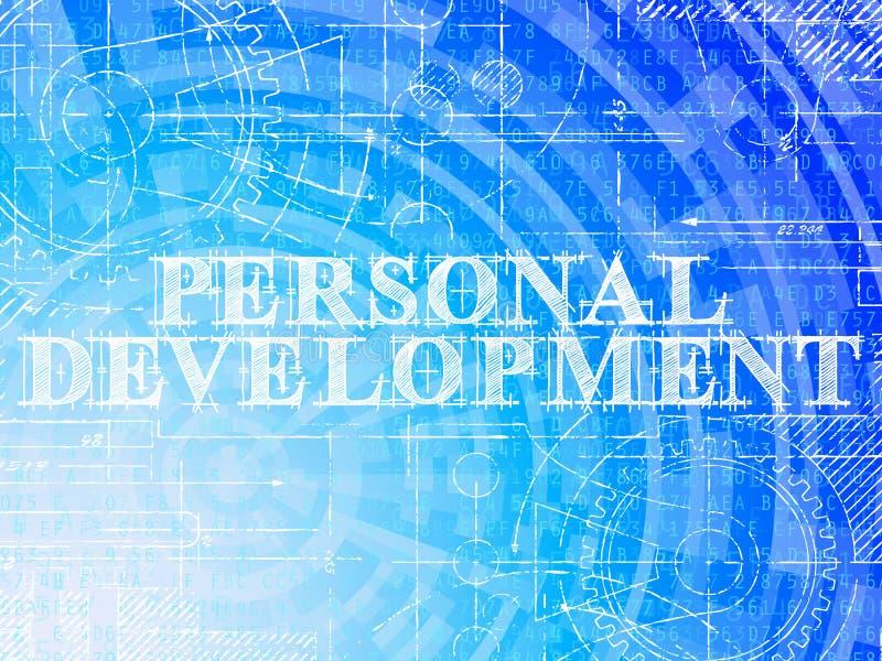 Personal Development Technical Background Stock Vector
