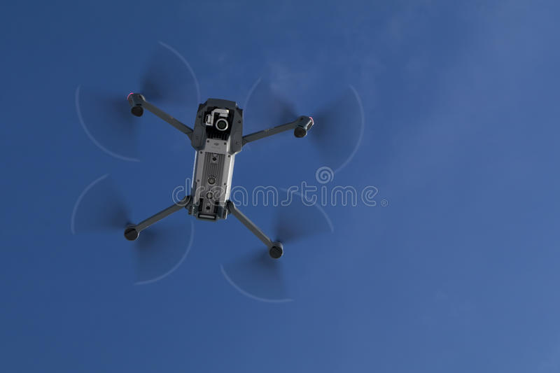 Personal Drone In Action stock photo