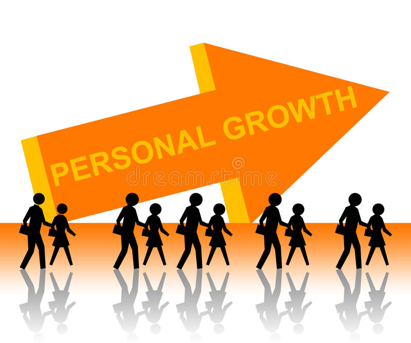 Download Personal growth stock illustration. Illustration of business - 23157621