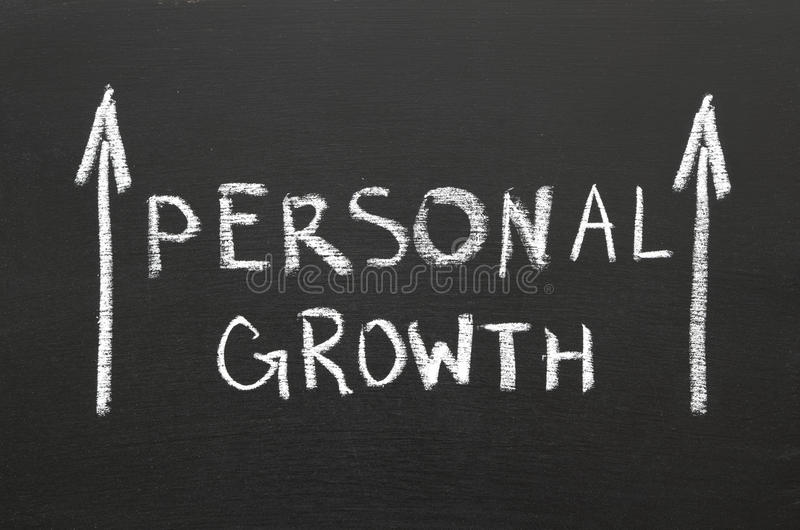 Download Personal growth stock photo. Image of graph, skills, chalkboard - 26336680