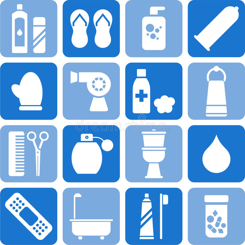 Download Personal Hygiene Icons Royalty Free Stock Photo - Image: 23933405