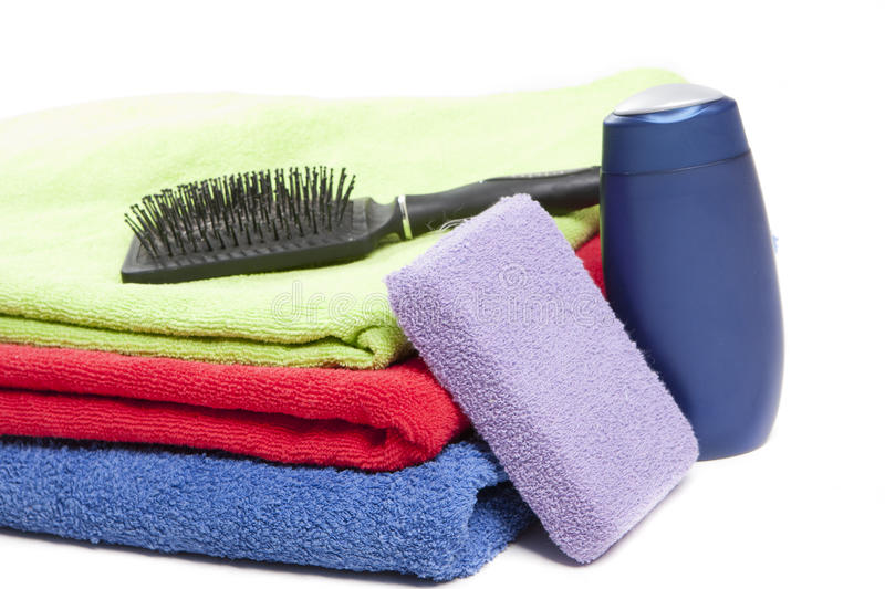 Download Personal hygiene items stock image. Image of shower, bath - 24449107