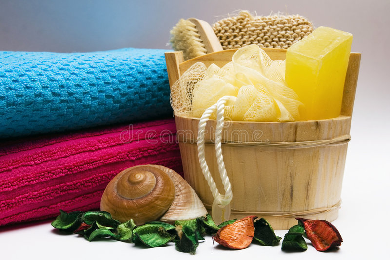 Download Personal hygiene items stock image. Image of relax, shell - 9118963
