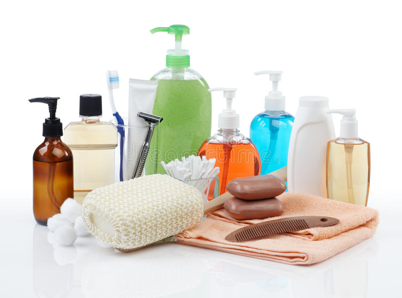 Download Personal hygiene products stock image. Image of white - 13534495