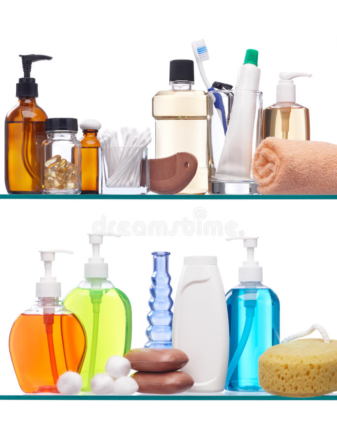 Download Personal hygiene products stock photo. Image of shampoo - 14022268