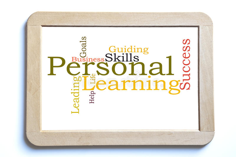 Personal learning stock photos