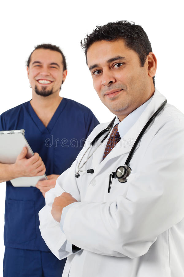 Personal médico imagen de archivo libre de regalías