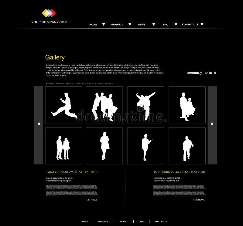 Free Personal Portfolio Website Royalty Free Stock Photography - 24090977