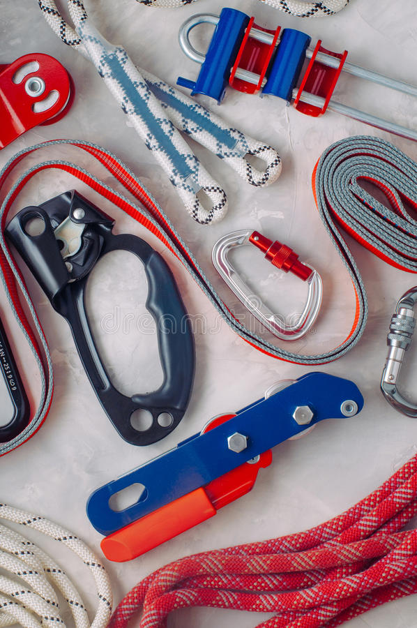 Download Personal Safety Equipment Using In Working On Height Stock Image - Image: 83711985