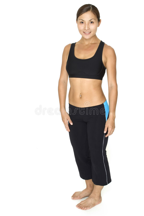 Download Personal Trainer 1 stock photo. Image of female, asian - 119382