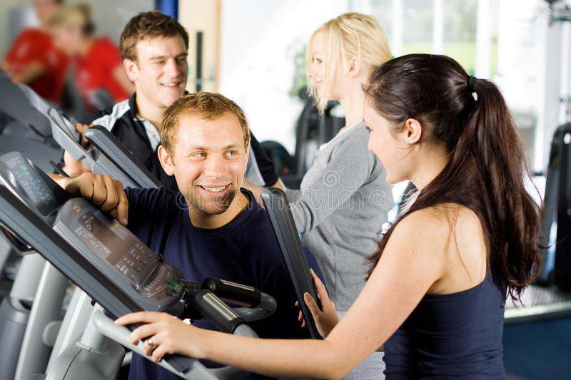 Download Personal Trainers Giving Instruction Stock Image - Image of people, healthy: 10495181