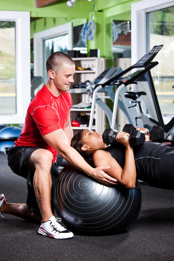 Download Personal training stock photo. Image of trainer, shape - 15311188