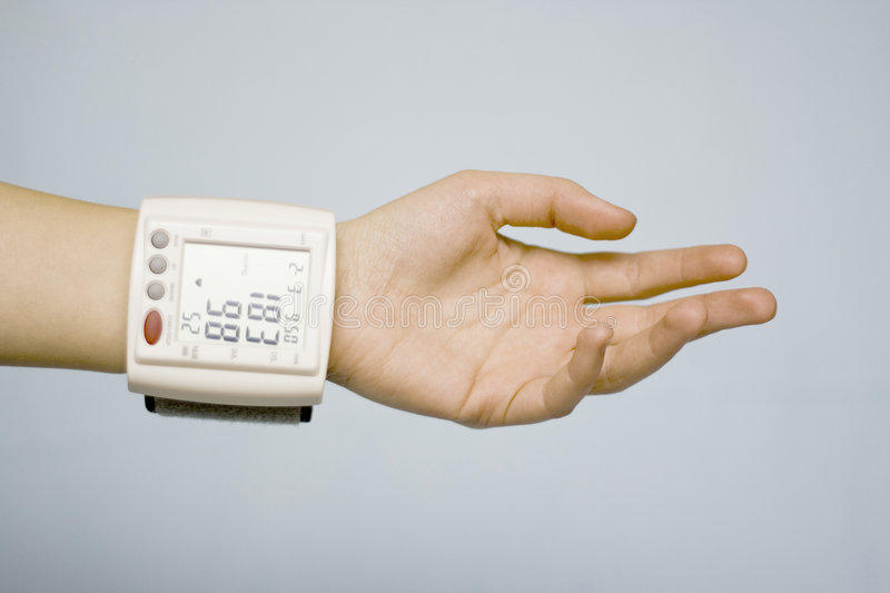 Download Personal Vital Signs Monitor Stock Image - Image: 3200173