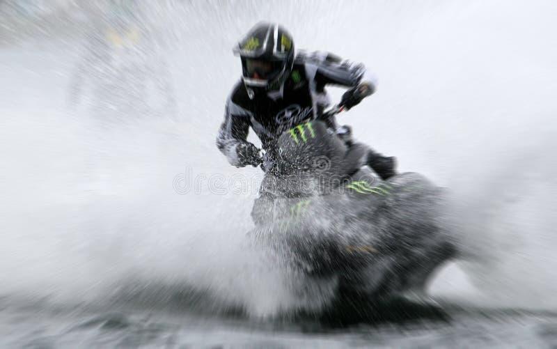 Personal Watercraft Racing royalty free stock photos