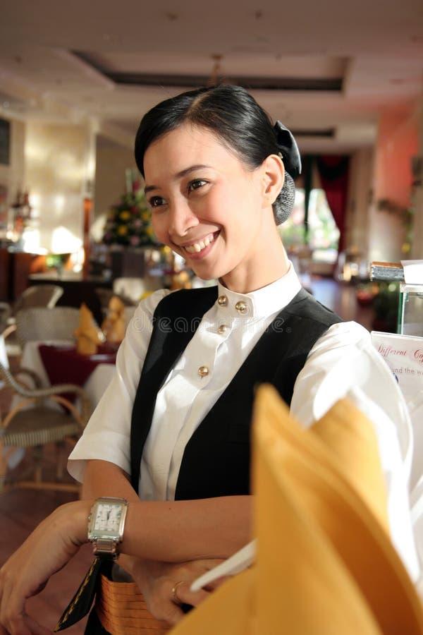 Personale del ristorante fotografia stock