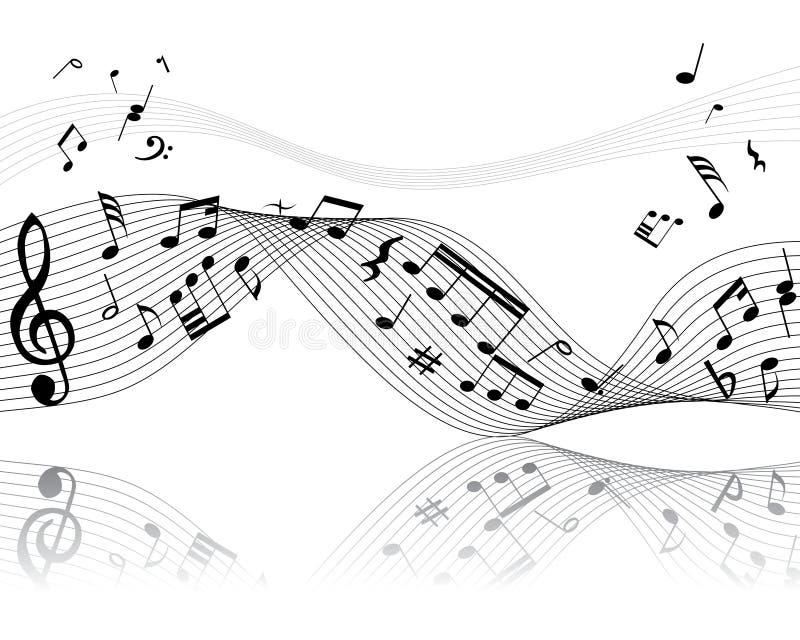 Personale musicale illustrazione vettoriale