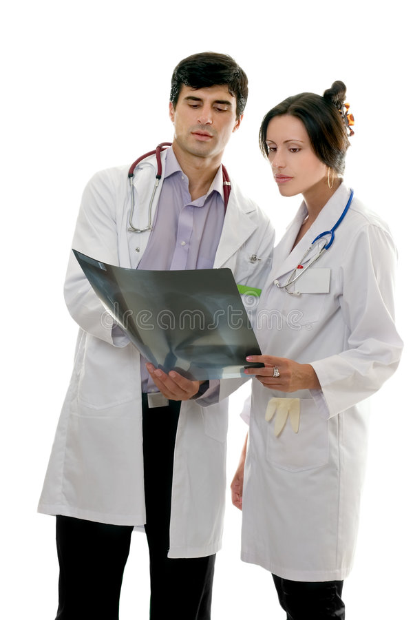 Personales médicos imágenes de archivo libres de regalías