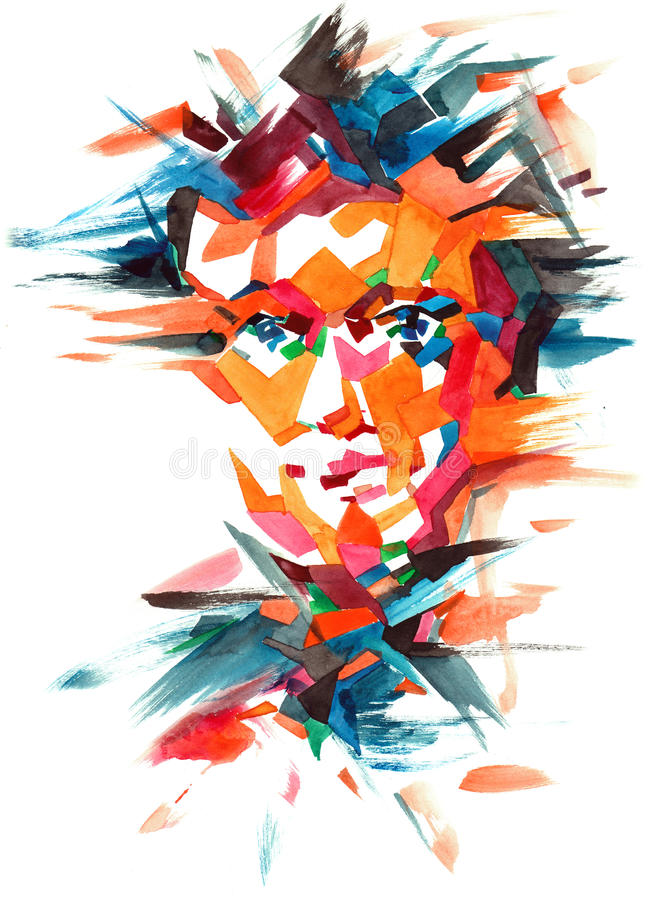 Personality vector illustration