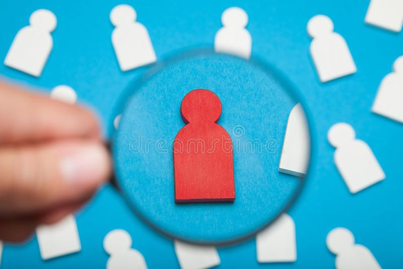 Personalleiter, Stunden-Neuzugangkonzept lizenzfreie stockfotos