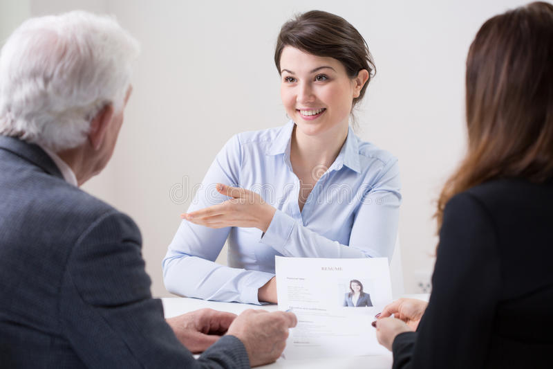 Personalresurslag under jobbintervju