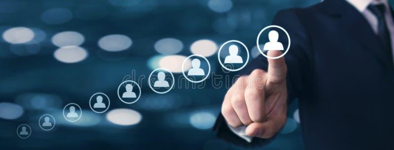 Personalwesen Management und Einstellung Karriereentwicklung Persönliches Wachstum stockfotos