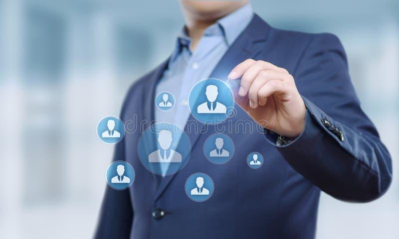 Personalwesen Stunden-Management Einstellungs-Beschäftigung, die Konzept Kopfjagd betreibt lizenzfreie stockfotos