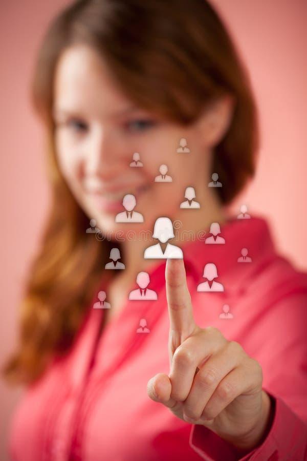 Personalwesen und CRM lizenzfreie stockfotos
