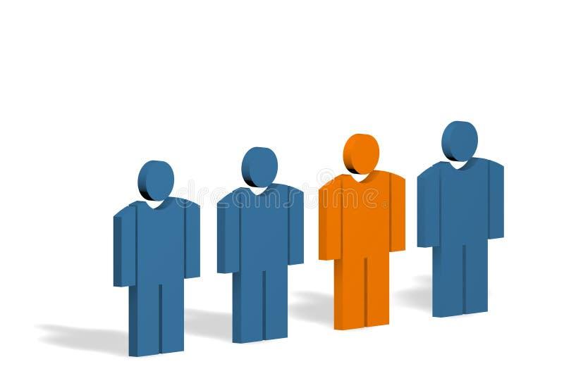 Personas ilustración del vector